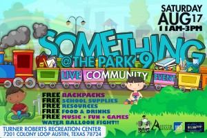 Something at the Park @ Turner Roberts Recreation Center
